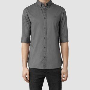 All Saints Redondo Half Sleeve shirt